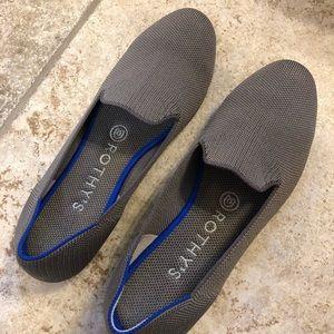 Rothy's size 7 Mocha Spot Loafers